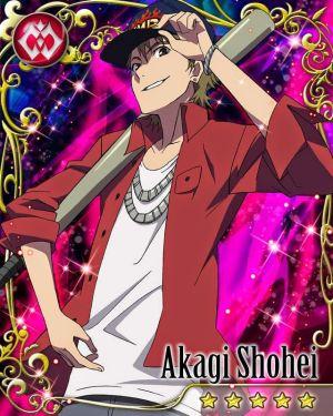Riku and Akagi Shouhei. Mostly because of his friendship dynamic with San-chan being similar to Ri