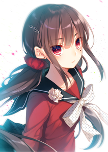 Blindy - Maki Harukawa from Danganronpa. - Serious attitude - A person of few words - Can appear