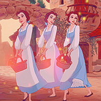 Here is my Belle icon. :)