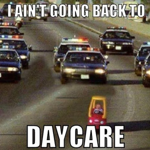 My cousin ran away from daycare. This is what happened as she drove home.