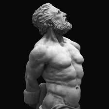 Wow, someone sculpted an accurate depiction of Lefteris, Greek god of memes