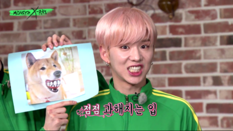 Round 9 open: A weird or funny pic of Kihyun round 8 winner 1st dani 2nd Ieva