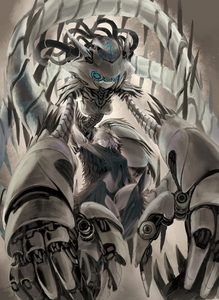 [Name] Golem 8 [Age] 80+ years [Gender] Golem [Species] Monster [Biography] a Golem c