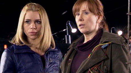 #4 - Turn Left (both of my favourite companions, Donna & Rose, they finally meet each other)