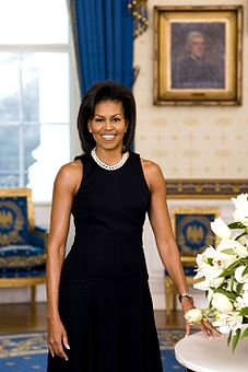 My choice would have to be Michelle Obama. She was already a First Lady, so this would in fact be jus