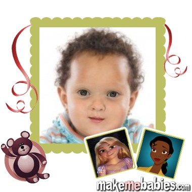 Here's a Tiana/Rapunzel baby lol