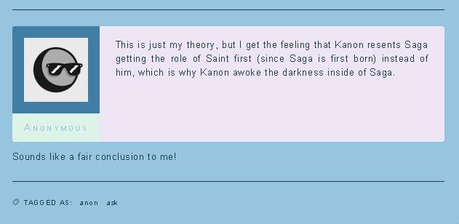 """So I was on the""""Saint Seiya Zone"""" page on tumblr and stumbled on the following post that made me laug"""