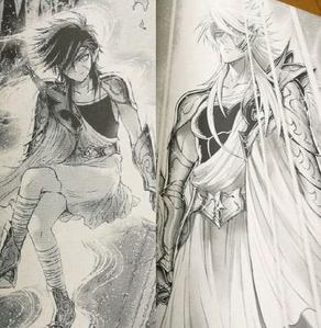 """Discussion related to the """"Saint Seiya: Saintia Sho"""" manga: Man,Phobos and Deimos are appearing in c"""