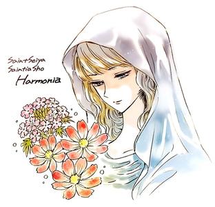 Also the illustration of Harmonia that Chimaki Kuori पोस्टेड on her twitter looks gorgeous <3