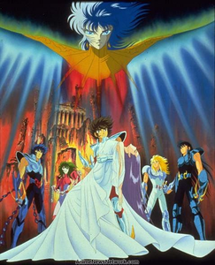 """Today is the 30th anniversary of the """"Saint Seiya: Legend of Crimson Youth"""" movie"""