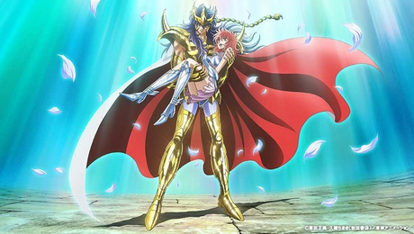 """The """"Saint Seiya: Saintia Sho"""" ऐनीमे is going to premiere on December 10.I'm so excited !!!!!!!!!!"""