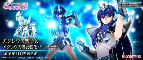 Man,the new Equuleus Kyoko Myth Cloth figure looks awesome XD