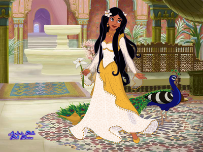 Interesting game! Anyway here are my entries~ #1st entry: цветок Princess (since Jasmine's name me