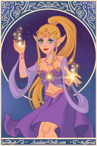 #3rd entry: Sun Elf Princess
