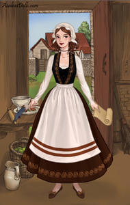 #3rd entry: Peasant Lady (she's Babette/Fifi, fyi)