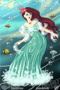 #1st entry: Queen of the Waves (Ariel)