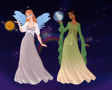 seconde Entry: Celestial Story uur (Cinderella and Tiana)