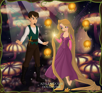 #3rd entry: See The Light (Rapunzel and Flynn)