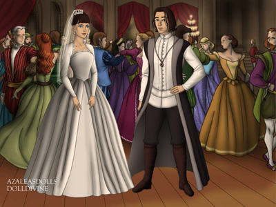 Entry 1: Awkward Wedding. (The Evil 皇后乐队 and Snow White's dad.)