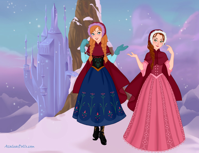 #2nd entry: Winter Wonderland (Anna and Belle)