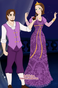 Entry 2: New Year's Proposal (Eugene and Rapunzel)