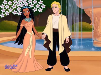 Entry 1: Private Wedding. (Pocahontas and John Smith)