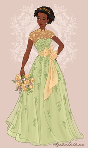 1st Entry: Glamorous in Green (Tiana)