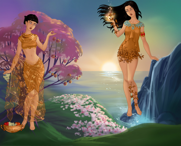 Entry 1: Goddesses of Harvest and Nature