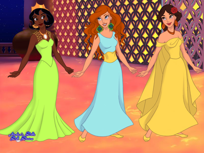 Entry 2: It's not every 日 你 turn 17! (Belle, Tiana, and Merida)