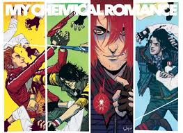 Scum me, I'm tryna read The True Lives of the Fabulous Killjoys comics right now! I never thought