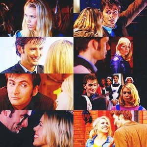 T.V/Movie Romances: 1. Rose and Tenth Doctor (Doctor Who) 2. Stephen Ezard and Yasim (The Last Enem