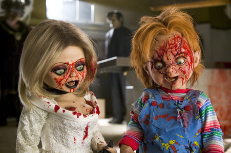 [b]12. प्रिय couple [/b] Chucky & Tiffany are funny together. The couple that slays together, sta