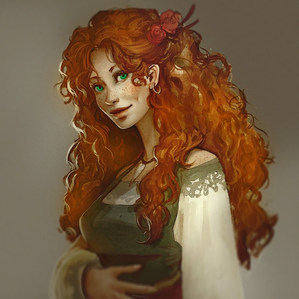 (do you know how hard it is to find nice, beautiful redheaded woman with green eyes on pinterest?! xD