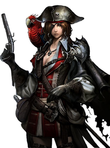 Name: Capt. Esperalda Furgus Race: Human Occupation: Pirate