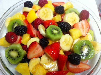 The most perfect fruit salad!