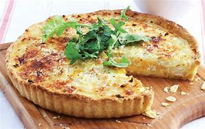 How about a cheese and onion quiche 💙