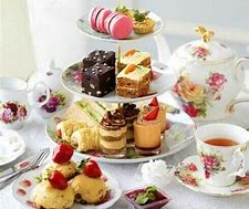 Or, we could have an English Afternoon Tea 💙