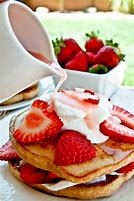 Or even strawberry pancakes <3