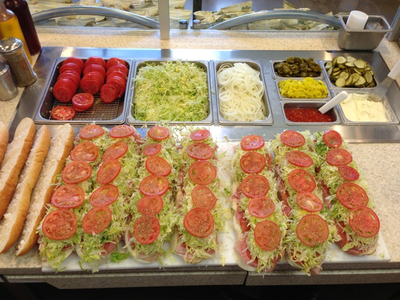 This is my favorite sub shop around here, and I really really want one! They never disappoint me.