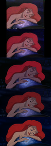 Click on the image for full-size. Princess Ariel dreaming of the human world.