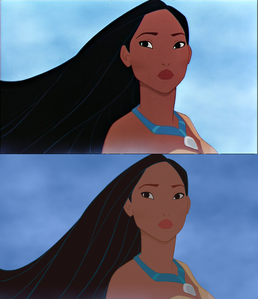 Click on the image to see it in full size. Pocahontas, the Indian Princess: