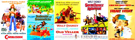 [u]Top 5 Live-Action Disney Movies[/u] Candleshoe Bedknobs and Broomsticks Old Yeller Swiss Fami