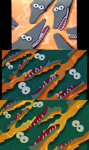 Click on the Image for full size The crocodiles during I Just Can't Wait To Be King: