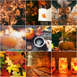 here is an autumn collage i made.