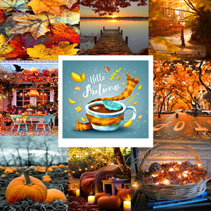 Here's my Autumn collage (made द्वारा me)