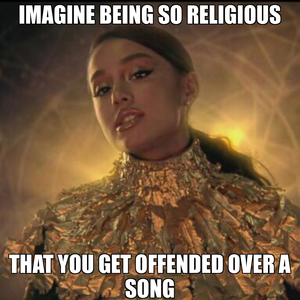 @Overly religious people