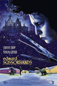 Edward Scissorhands starring Johnny Depp and Winona Ryder 1990