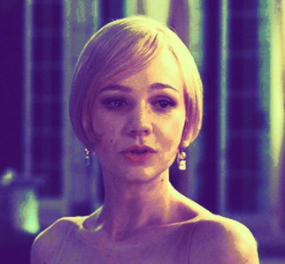 I'll post all my icones one par one but for starting here's marguerite, daisy from The Great Gatsby. I recently mad