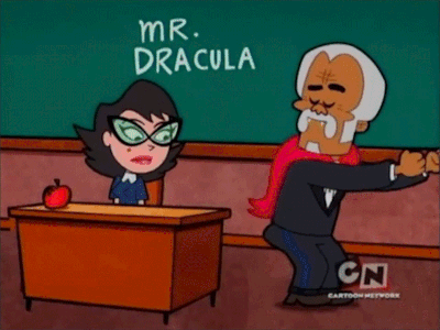 Dracula from The Grim Adventures of Billy & Mandy was the absolute shit, okay. He was a total sass ma