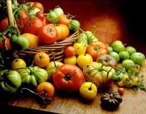 dag 04: Veggies ✒ Tomatoes ✒ Sweet maïs ✒ Pepper bells